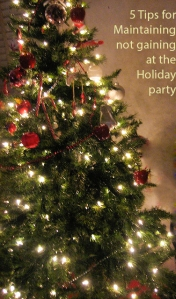 5 Tips for Maintaing not Gaining at the Holiday Party