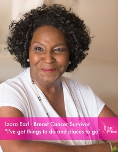 Breast Cancer Survivor Izora Earl