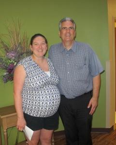 Jennifer Widdows with Dr. John Graziano