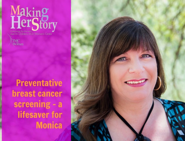 monica stopping breast cancer in it's tracks